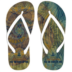 Flip Flop Mayan Shadows