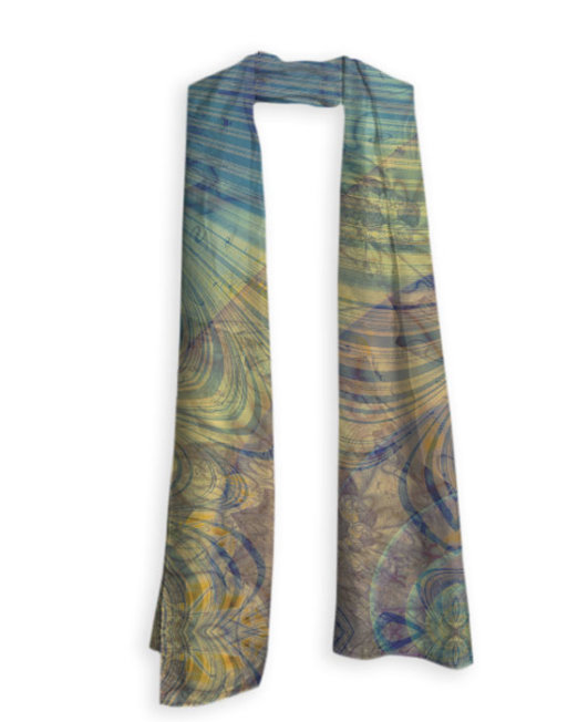 Mayan Shadow Yogi Yoga Wear Scarf