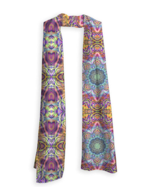 Zillience Yogi Yoga Wear Scarf