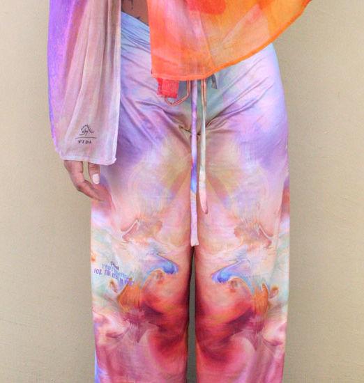 Safhana Wrap Pants-front