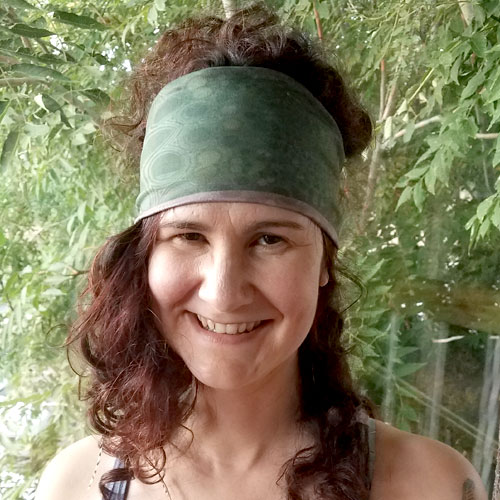 GreenBurg Headband - front