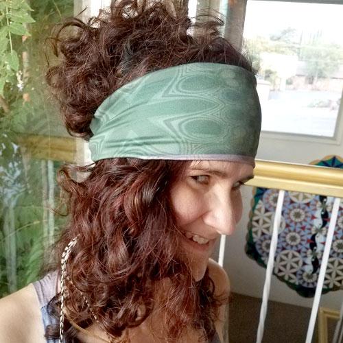 GreenBurg Headband - Side