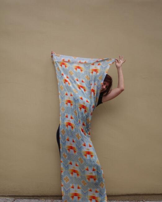 ILL long scarf abra