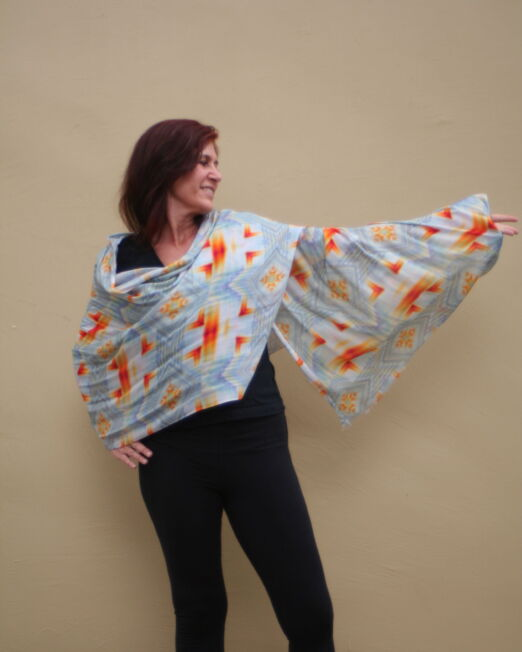 ILL wrapped scarf abra